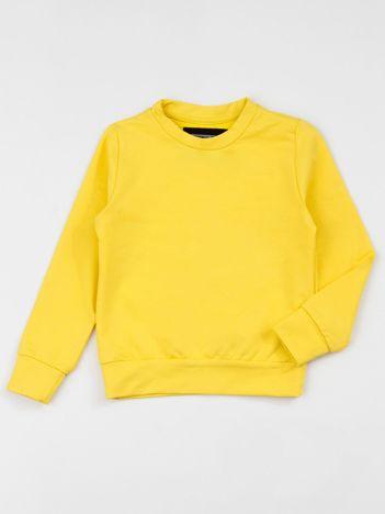 Żółta bluza dziecięca basic