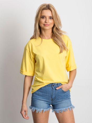 Żółta bluzka Alongside