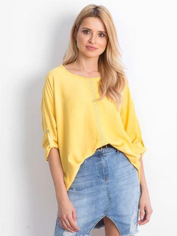 Żółta bluzka Cherubic