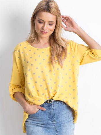 Żółta bluzka Designer