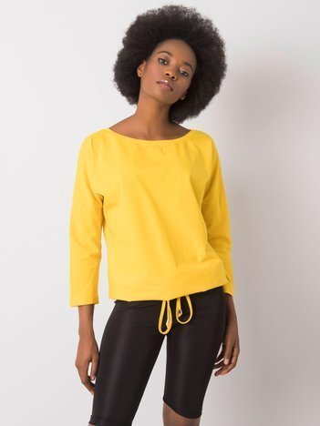 Żółta bluzka Fiona