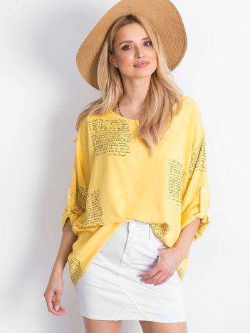Żółta bluzka Happines