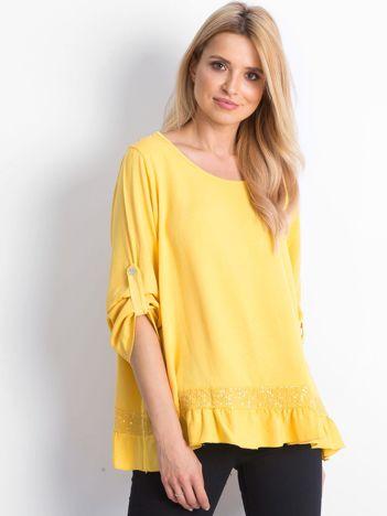 Żółta bluzka Nostalgic