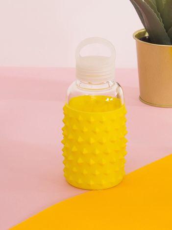 Żółta butelka z uchwytem