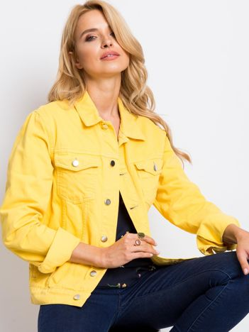 Żółta kurtka Daisy