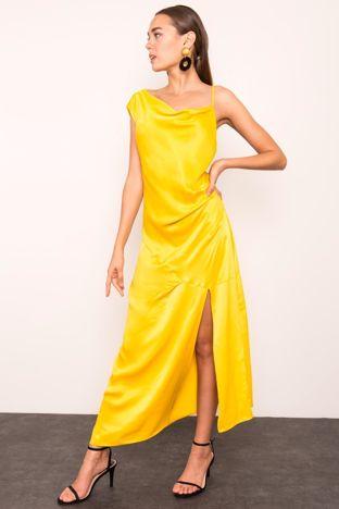 Żółta sukienka BSL