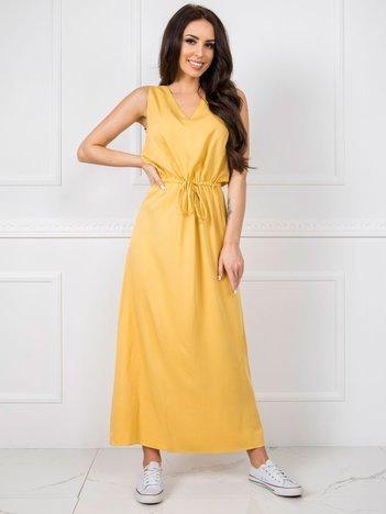 Żółta sukienka Feel RUE PARIS