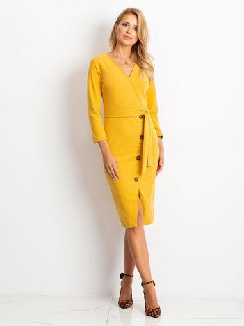 Żółta sukienka Future