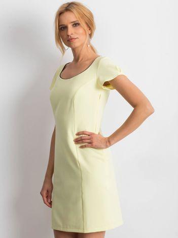 71195a5bc5 Żółta sukienka Majesty