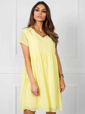 Żółta sukienka Sarah RUE PARIS