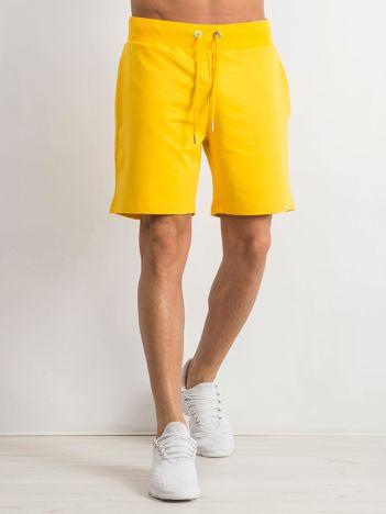 Żółte spodenki męskie Deluxe