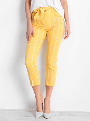 Żółte spodnie Bespoke