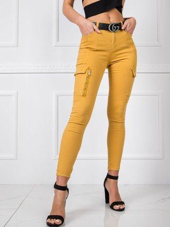 Żółte spodnie Sophia