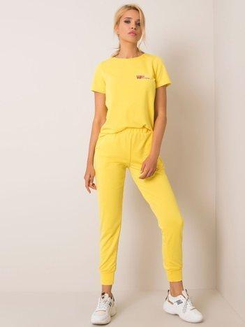 Żółty komplet Janice