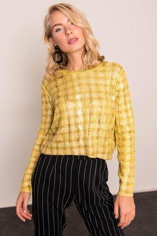 Żółty sweter BSL