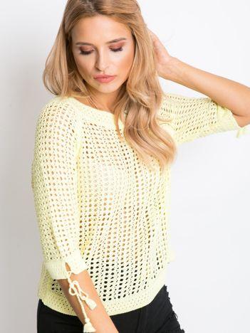 Żółty sweter Beatrice