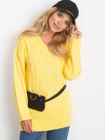 Żółty sweter Chill