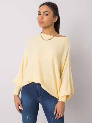 Żółty sweter oversize Albertina