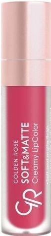 nowy kolor! GOLDEN ROSE Soft & Matte Creamy Lip Color matowa pomadka 120 5,5 ml