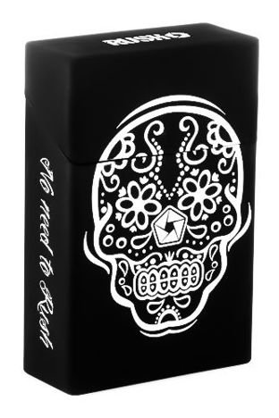 toys4smokers Etui na papierosy SILICONE Mexican Skull by RUSH
