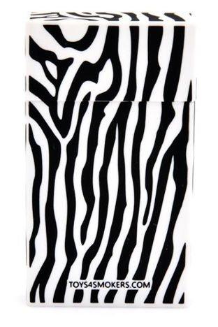 toys4smokers Etui na papierosy slim Stripped Zebra