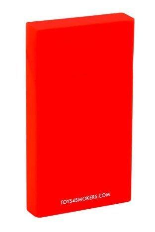toys4smokers Etui silikonowe na papierosy slim CHILLI RED