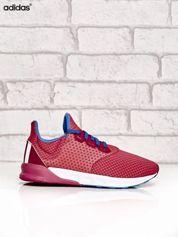 ADIDAS różowe buty sportowe z kolorowymi sznurówkami
