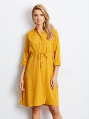Ciemnożółta sukienka Ambrosia