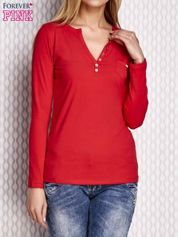 Czerwona bluzka cut out