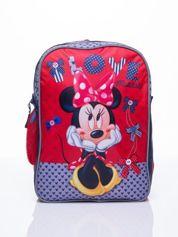 Czerwony plecak szkolny DISNEY Myszka Minnie