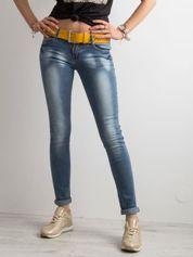 Damskie jeansy niebieskie