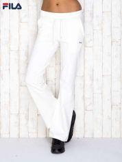 FILA Ecru spodnie dresowe z troczkami