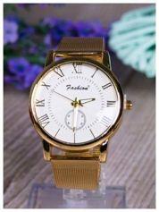 Fashion -Klasyka i elegancja złoty damski zegarek retro