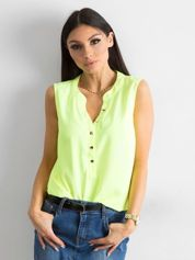 Fluo żółta damska bluzka