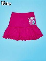 Fuksjowa spódnica dla dziewczynki FURBY