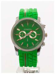 GENEVA Zielony zegarek męski MILITARY