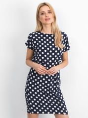 Granatowa sukienka Peyton