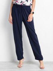 Granatowe spodnie Inability