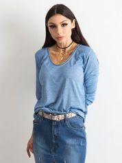 Jasnoniebieska bluzka damska