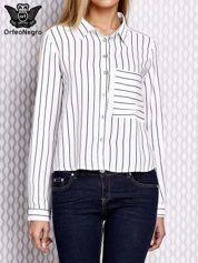 Koszula w paski biała