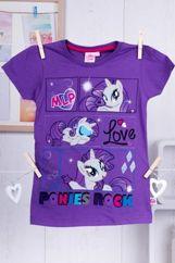 MY LITTLE PONY Fioletowy t-shirt dla dziewczynki