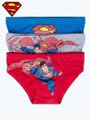 Majtki chłopięce bawełniane SUPERMAN 3 szt
