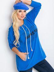 Niebieska bluza plus size Impress
