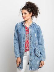 Niebieska kurtka jeansowa Blessing