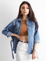 Niebieska kurtka jeansowa Mysterious