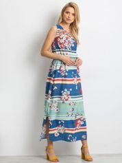 Niebieska sukienka Sacrilege
