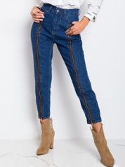 Niebieskie jeansy Montana