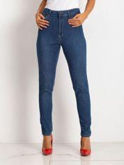 Niebieskie spodnie Symmetry