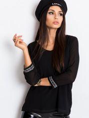 RUE PARIS Czarna bluzka Tamara