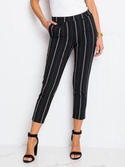 RUE PARIS Czarne spodnie Worth